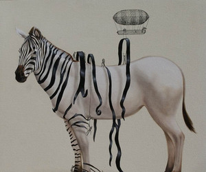 zebra, art, and black and white image