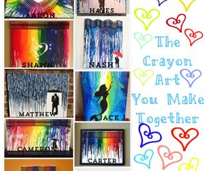crayon art, jack johnson, and cameron dallas image