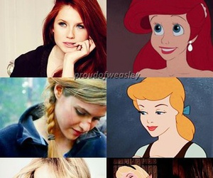 ariel, emma watson, and Jennifer Lawrence image