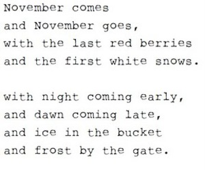 november and poetry image