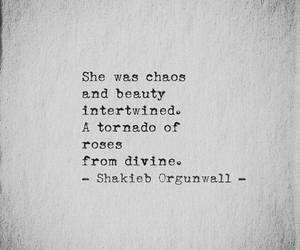 beauty, quotes, and tornado image