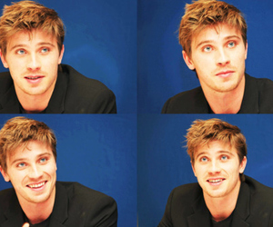 garrett hedlund, blonde, and boy image