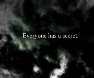 secret, quote, and dark image