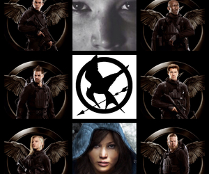 mockingjay, cressida, and hunger games image