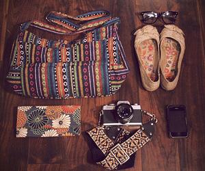 fashion, bag, and camera image
