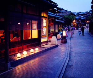 japan, lantern, and light image