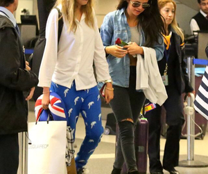 airport, LAX, and caradelevigne image