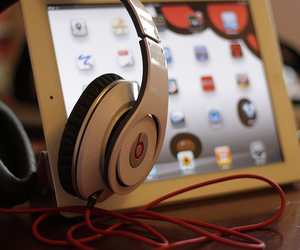 ipad, beats, and apple image