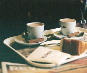 vintage, indie, and coffee image