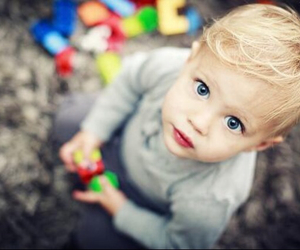 baby, boy, and eyes image