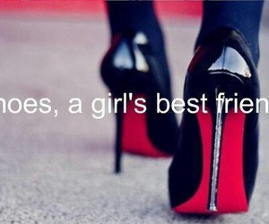 shoes, best friends, and heels image