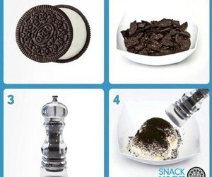 chocolate, diy, and oreo image