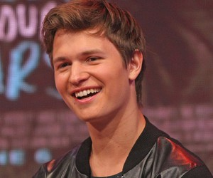 ansel elgort and boy image