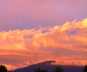 beauty, cloud, and pink image