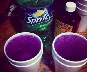 codeine, sprite, and drugs image