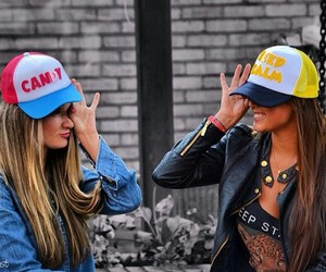 cap, Colombian, and fashion image