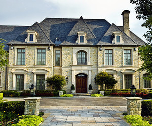 luxury and mansion image