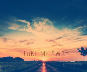 adventure, road, and take me away image