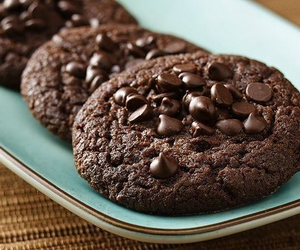 baking, chocolate, and Cookies image