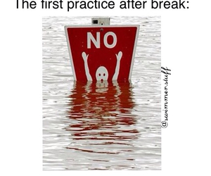 no, practice, and swimming image