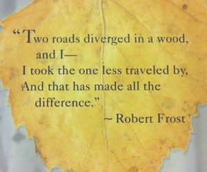 quote, robert frost, and life image