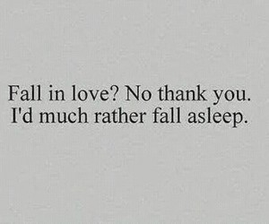 sleep, fall in love, and love image