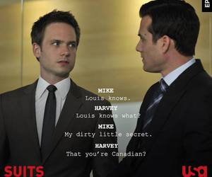 suits, gabriel macht, and mike ross image