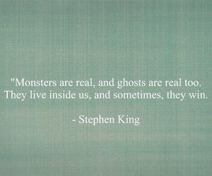 fear, Stephen King, and ghost image
