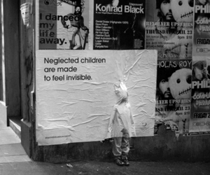 child, invisible, and street image