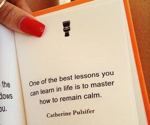 quote, life, and calm image