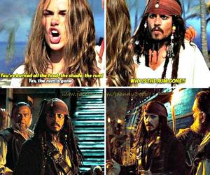 movie, pirates of the caribbean, and sparrow image