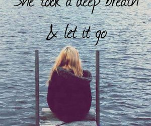girl and let it go image