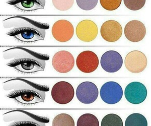 eye makeup, eyeshadow, and makeup image