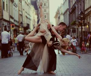 ballet, couple, and dance image