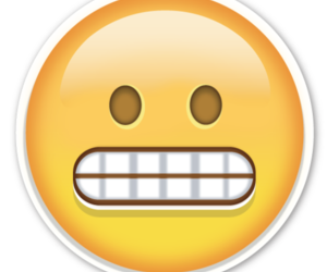 face, say, and smile image