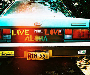 love, car, and live image