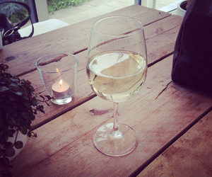 wine, chill, and enjoy image