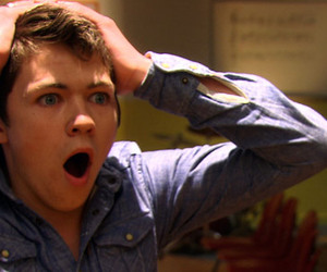damian mcginty, the glee project, and invisible penis lol image