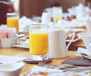 breakfast and juice image
