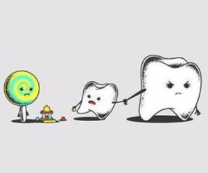 candy and teeth image