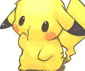 cool, kawaii, and pikachu image