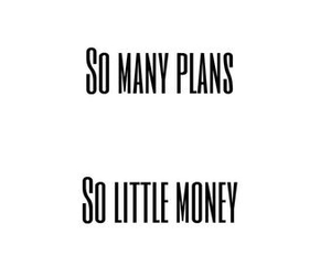 money, plan, and quote image