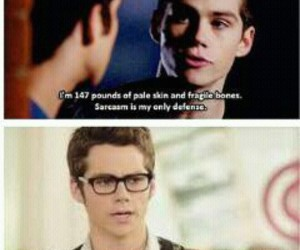 sarcasm, teen wolf, and love him image