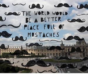 beautiful, life, and mustache image
