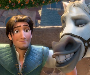 disney, tangled, and Eugene image