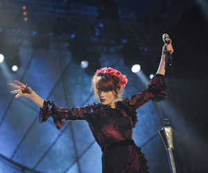 beauty, concert, and florence and the machine image