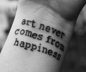 art, tattoo, and happiness image