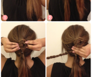 diy, tutorial, and hair image