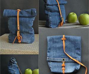 diy, bag, and jeans image