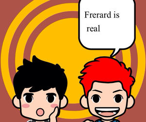 frank iero, frerard, and my chemical romance image